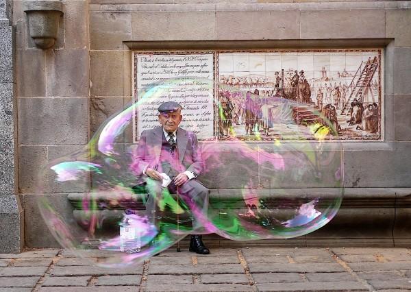 Una burbuja